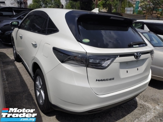 2016 TOYOTA HARRIER 2.0 PANAROMIC ROOF POWER BOOT 360 SURROUND CAMERA PRICE INCLUSIVE SST FREE 2 YEAR WARRANTY