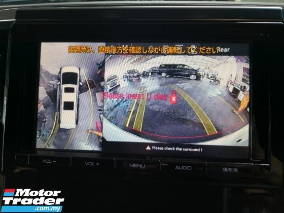 2017 TOYOTA ALPHARD 2.5 Type Black Sunroof 360 Cameras INC SST 2 YEARS WARRANTY Japan Unreg