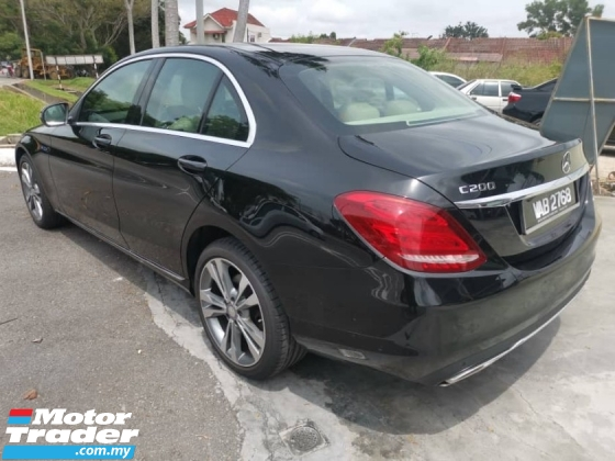 2017 MERCEDES-BENZ C-CLASS C200 Exclusive (CKD) 2.0 (A) - One Careful Owner
