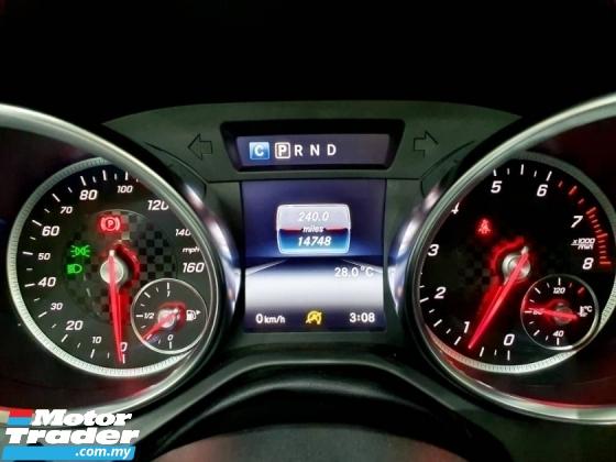 2017 MERCEDES-BENZ SLC 200 AMG 9 SPEED UNREG