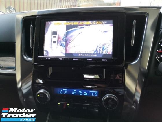 2015 TOYOTA ALPHARD 2.5 S 8 Seats INC SST 360 Cameras Power Boot 2 YEARS WARRANTY Japan Unreg