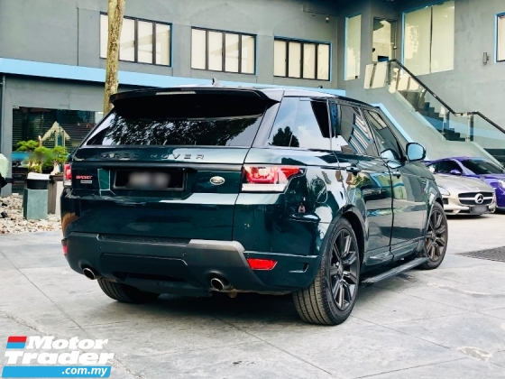 2016 LAND ROVER RANGE ROVER SPORT AUTOBIOGRAPHY 5.0 V8 SUPERCHARGED WELL MAINTAINED