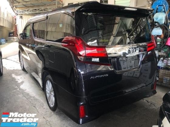 2015 TOYOTA ALPHARD 2.5 S Edition 8 Seat 360 Surround Camera Power Boot 2 Power Door Keyless Entry 9 Air Bag Unreg
