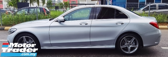 2017 MERCEDES-BENZ C-CLASS 2017 MERCEDES C200 2.0 AMG SPEC ORIGINAL FROM JAPAN UNREG CAR SELLING PRICE ( RM 199,000.00 NEGO )