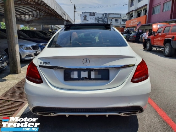 2018 MERCEDES-BENZ C-CLASS C250 AMG *Just done major services* Under warranty