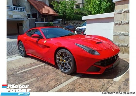 2013 FERRARI F12 Ferrari F12 BERLINETTA