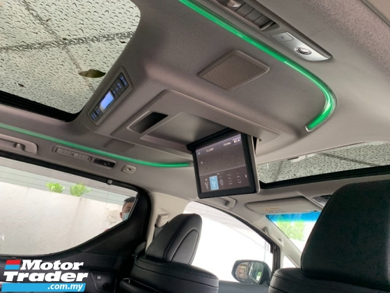 2018 TOYOTA VELLFIRE 2.5 ZG (PROMOTION PRICE) SUNROOF JBL HOME THEATRE LKA DIM PRE CRASH PILOT SEATS UNREG