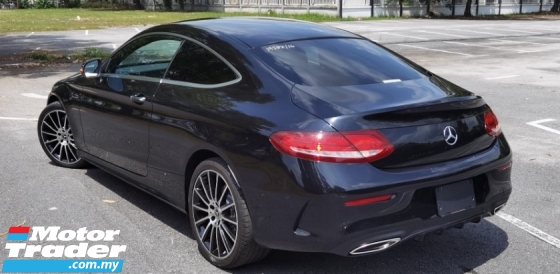 2016 MERCEDES-BENZ C-CLASS 2016 MERCEDES C180 1.6 AMG COUPE SPEC ORIGINAL FROM JAPAN UNREG CAR SELLING PRICE  RM 218,000.00