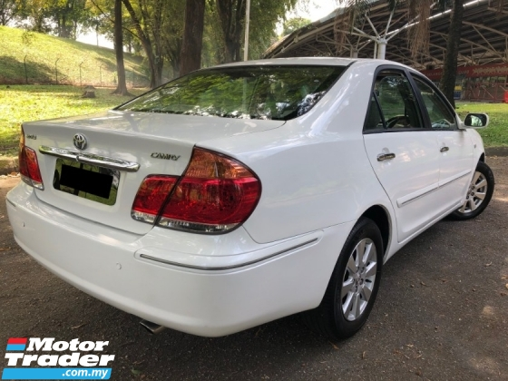2004 TOYOTA CAMRY 2.4 V (A) HIGH SPEC POWER/SEAT LEATHER