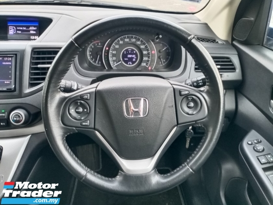 2013 HONDA CR-V 2.0 4WD 5 Speed R/Camera LeatherSeat