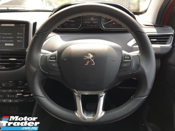 2014 PEUGEOT 208 Peugeot 208 1.6 VTi ALLURE ORIGINAL LEATHER SEAT