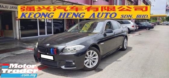 2013 BMW 5 SERIES 520i 2.0cc (A) REG 2013, 2YRS WARRT, MILE 148K