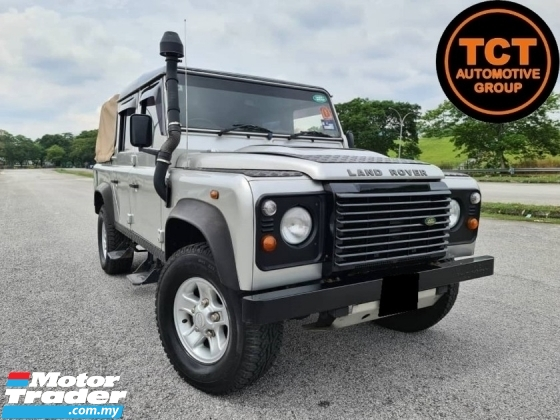 2010 LAND ROVER DEFENDER 110S double cab one vvip owner diesel engine