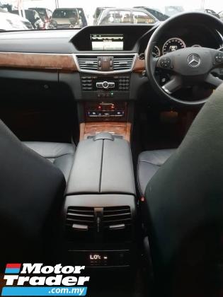 2013 MERCEDES-BENZ E-CLASS E200 CGI 1.8 (CKD) (FREE 2 YEARS CAR WARRANTY)