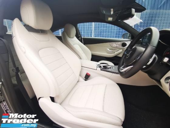 2016 MERCEDES-BENZ C-CLASS C300 AMG COUPE - CLASSIC WHITE INTERIOR - UK UNREG