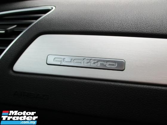 2013 AUDI A4 2.0 TFSI QUATTRO S-LINE FACELIFT (A) PushStart B&O