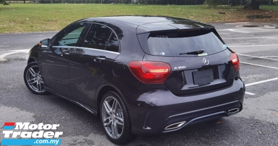 2016 MERCEDES-BENZ A-CLASS 2016 MERCEDES BENZ A180 AMG 1.6 TURBO UNREG JAPAN SPEC CAR SELLING PRICE ONLY ( RM 149,000.00 NEGO )