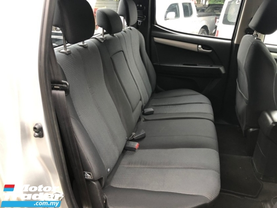 2016 ISUZU D-MAX 2.5L 4X2 DOUBLE CAB