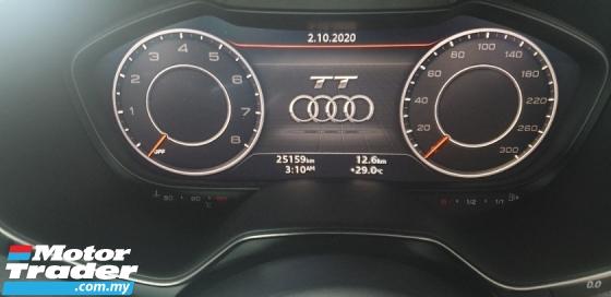 2017 AUDI TT 2.0 TFSI S LINE NO HIDDEN CHARGES