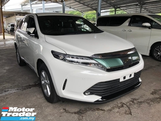 2017 TOYOTA HARRIER 2.0 NFL POWER BOOT 360 SURROUND CAMERA INCLUSIVE SST FREE 2 YEARS WARRANTY