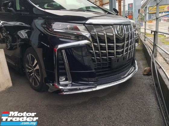 2018 TOYOTA ALPHARD 2.5 SC 360\' CAMERA BODYKIT 3 LED FULL SPEC UNREG