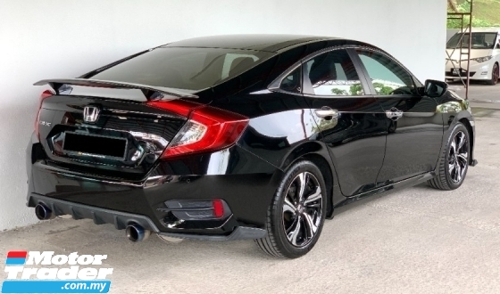 2017 HONDA CIVIC 1.5 TC-P (A) All Black Sport Edition