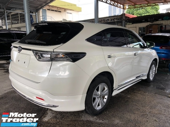 2016 TOYOTA HARRIER 2.0 Modelista Edition 360 Surround Camera Power Boot Full LED Headlamp Keyless Go Push Start Unreg