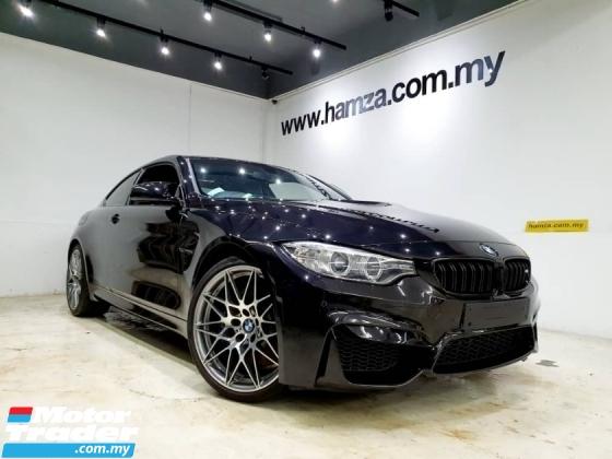 2016 BMW M4 COMPETITION SUNROOF H/KARDON UNREG