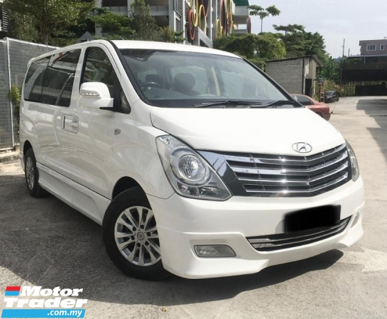2013 HYUNDAI GRAND STAREX 2.5 AT ROYALE PREMIUM FACELIFT MPV (LOW MILEAGE)