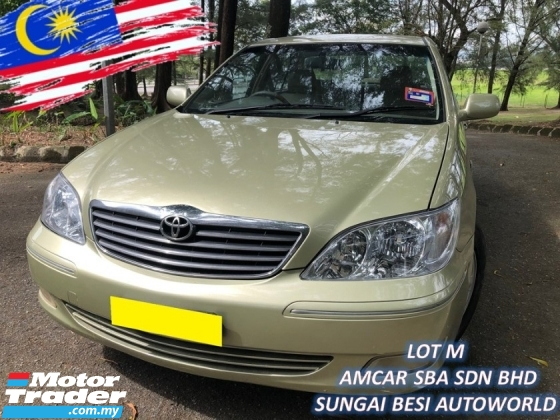 2005 TOYOTA CAMRY 2.4 V FACELIFT (A) HIGH SPEC 1 OWNER POWER/SEAT