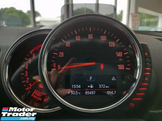 2017 MINI Cooper S Clubman 2.0 UK Unregister