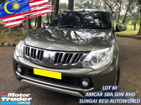 2016 MITSUBISHI TRITON 2.5 VGT ADVENTURE (A) HIGH SPEC 4X4