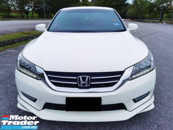 2013 HONDA ACCORD 2.4 VTIL FACELIFT 18 INC SPORT RIM 1 YEAR WARRANTY
