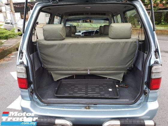 2001 TOYOTA UNSER   1.8 GLi (M) 7 SEATED MPV CAR KING