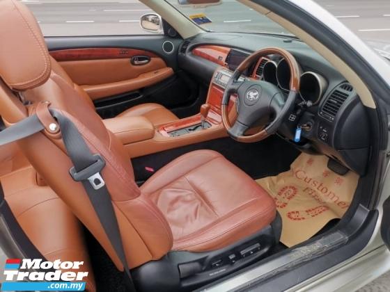 2003 TOYOTA SOARER 4.3 SCY430 V8