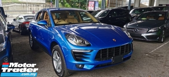 2016 PORSCHE MACAN 2.0 TURBO UNREG.TRUE YEAR N GRADE 5 CAN PROVE.POWER BOOT.SPORT PADDLE SHIFT.SIDE N REAR CAMERA.BOSE