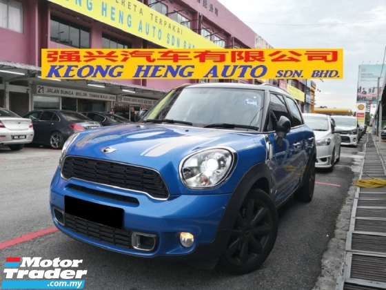 2014 MINI Countryman S 1.6 ALL4 TURBO TRUE YEAR MADE 2014 MIL LOW AS 27000KM ONLY FULL SERVICE AB (( FREE 2 YRS WRNTY ))