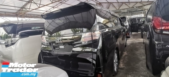 2017 TOYOTA VELLFIRE 2.5 GOLDEN EYES 2 UNREG.TRUE YEAR CAN PROVE.HALF SST.PRE CRASH.7 SEAT.ORI 3 POWER DRS N BOOT.360 CAM