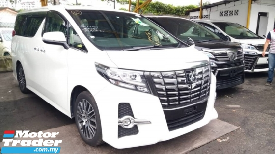 2017 TOYOTA ALPHARD 2.5 SC WITH SUNROOF & PRE CRASH SPEC