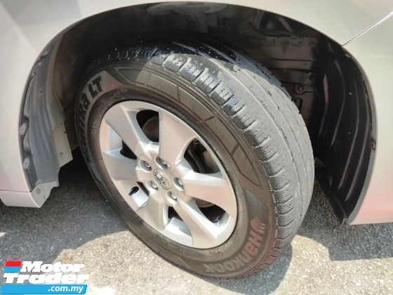 2014 TOYOTA ALPHARD 2.4 X (FREE 2 YEARS CAR WARRANTY) REGISTER 2018