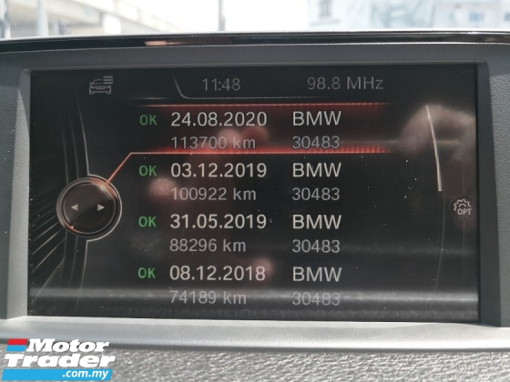 2015 BMW 3 SERIES 316i CKD TRUE YER MADE 2016 ((( FREE 2 YEARS WARRANTY ))) Full Service History INGRESS AUTO