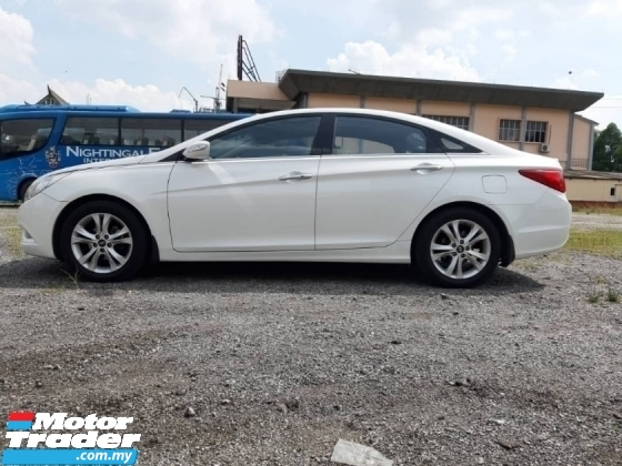 2011 HYUNDAI SONATA 2.0 GLS (AUTO) Sunroof Leather Seat Push Start OTR