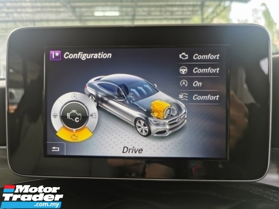 2016 MERCEDES-BENZ C-CLASS Mercedes Benz C200 COUPE AMG LINE CBU 2.0 WARRANTY