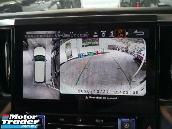 2018 TOYOTA VELLFIRE 2.5 Z A Alpine Media 360 Cameras Pre Crash Lane Keeping Assist Power Boot INC SST Unreg Japan