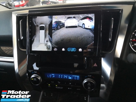 2016 TOYOTA VELLFIRE 2.5 Z A INC SST 2 YEARS WARRANTY Android Medias Player 360 Cameras Power Boot Japan Unreg