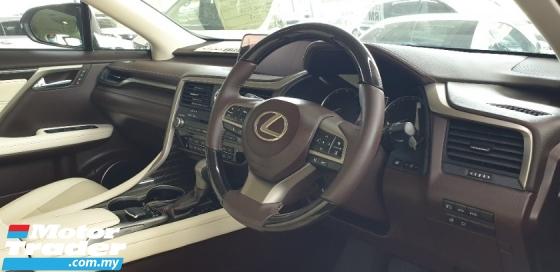 2017 LEXUS RX 200T VL SPEC NO HIDDEN CHARGES