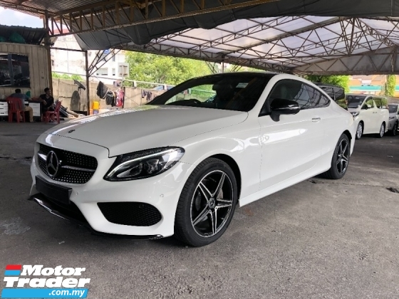 2018 MERCEDES-BENZ C-CLASS C200 AMG Premium Coupe 2.0 Turbo Panoramic Roof Intelligent Full LED Smart Entry Paddle Shift P/Boot