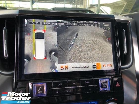 2016 TOYOTA ALPHARD 2.5 SC Full Alpine Player Set Pre Crash Sun Roof Moon Roof 360 Camera Pilot Seat 3 Power Doors Unreg