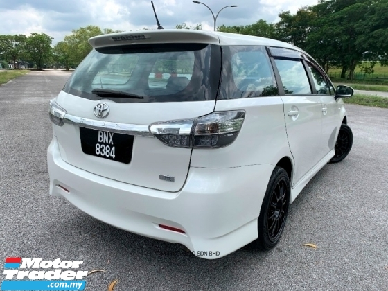 2009 TOYOTA WISH 1.8 S (A) PADDLESHIFT VALVEMATIC LEATHER - TIP TOP