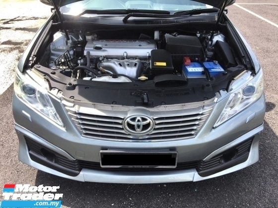 2015 TOYOTA CAMRY 2.0 G FACELIFT FULL SERVICE RECORD